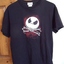Disney Woman's T-Shirt Tim Burton the Nightmare Before Christmas M Photo