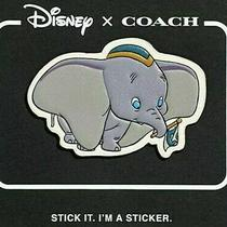 Disney X Coach Dumbo Leather Sticker Patch Limited Edition Photo