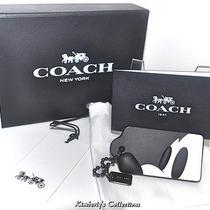 Disney X Coach Ltd. Edition Mickey Mouse Profile Hangtag Bag Key Charm Fob Nwt Photo