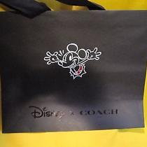 Disney X Coach Mickey Large  Shopping Bag New Photo