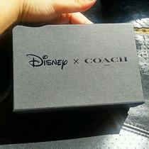 Disney X Coach Mickey Mouse Gift Box  5x4x1.5  Photo