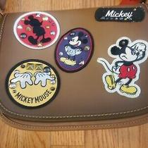 Disney X Coach Patricia 23 Saddle Glove Calf Leather Mickey Patches 550 Photo