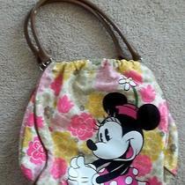 Disneyland Resort Minnie Mouse Flower Canvas Purse Photo