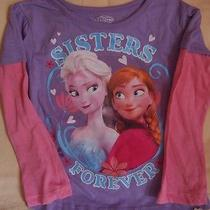Disneys Frozen - Sisters Forever Shirt- Size 4t Photo