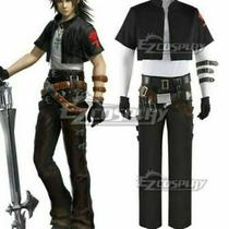 Dissidia Final Fantasy Nt Squall Leonhart Kingdom Hearts Cosplay Costumea Photo