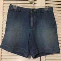 Distressed Blue Jean Denim Shorts Gap Size 4 Photo