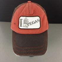 Distressed I Slot Machine Vegas Trucker Snapback Baseball Hat Cap Stained Frayed Photo