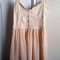 Divided by h&m Beautiful Blush Salmon Dress. Size 2 Photo