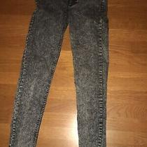 Divided h&m Black -Size 6-Stonewashed Jeans Straight Legged . 21 Photo