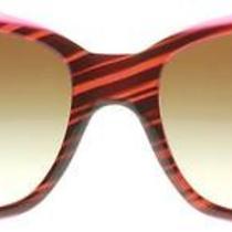 Dkny 4048 Brown Striped Violet 342413 Sunglasses Photo