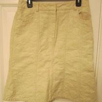 Dkny Beige Skirt Size 6 Photo