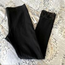 Dkny Black Sequin Leggings Nwt Sz Sm Photo