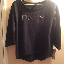 Dkny Black Sweater Photo