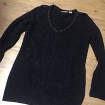 Dkny Black Sweater Size Large  Photo
