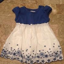 Dkny Blue/ White Dress Size 12 Months Photo