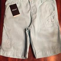 Dkny Boys Baby Blue Shorts Size 12 Nwt Free Ship Photo