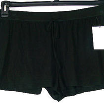 Dkny Causal Lounge Shorts Black Short Length New Womens Large  Photo