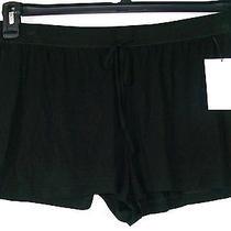 Dkny Causal Lounge Shorts Black Short Length New Womens Large  Photo