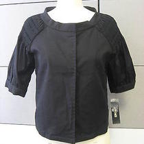 Dkny-Cute Little Jacket- Black . Size 8 - Cute Neckline Photo