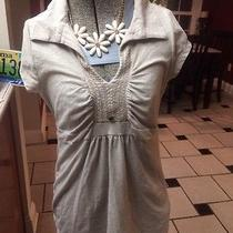 Dkny Designer Blouse With Necklace Included Photo