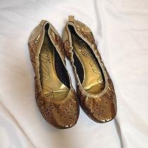 Dkny Designer Metalic Flats  Photo