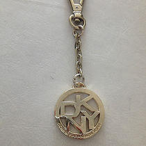 Dkny Donna Karan Gold Tone Key Chain Purse Charm Handbag Tag Fob Ring Nwot Photo
