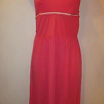 Dkny Donna Karan New York Strapless Pink Casual  Lounge Dress Womens Small  Photo