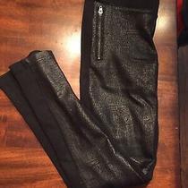 Dkny Girls Black Pants Size M Guc Free Ship Photo