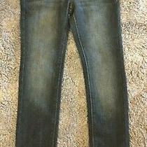 Dkny Hipster Boys Blue Jeans- Size 8 - Skinny Pre Owned Kids Pants. Photo