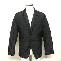 Dkny Jeans Blazer Jacket Mens Size M Black Lightweight Smart Casual Thin 424396 Photo