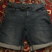 Dkny Jeans Denim Shorts Womens Size 14 Photo