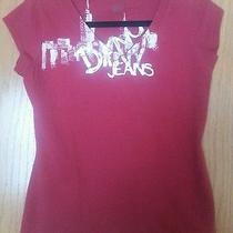 Dkny Jeans Ladies v-Neck T-Shirt Photo