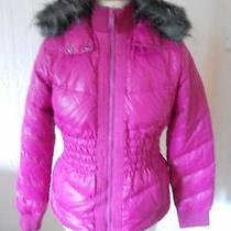 Dkny   Jeans Womens  Down Jacket Hoodie  Size- M  New With Tags Rrp -348 Pounds Photo