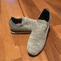 Dkny Jerri-Slip-on Women's Trainer Sneakers Knit Shoe - Grey - Size 9.5 Photo