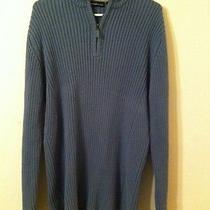 Dkny Knit Sweater 1/4 Zipper Pullover