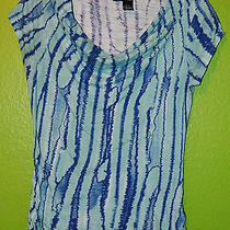 Dkny Knit Top Size Small Photo