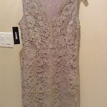 Dkny Lace Holiday Dress Size 8 Photo