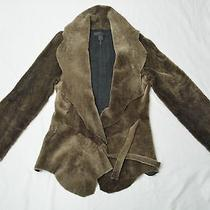 Dkny Lamb Shearling Jacket. Photo