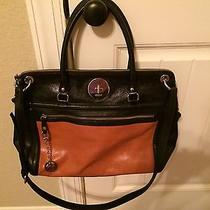 Dkny Large Leather Computer Shoulder Bag Photo