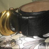 Dkny Leather Belt Photo