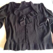 Dkny Long Sleeved Cashmere Cardigan Like New Photo