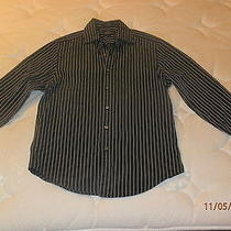 Dkny Longsleeve Black Medium Mens Dress Shirt Photo