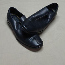 Dkny Men's Dress Loafers Slip on Shoes 9 1/2 Black Photo