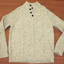 Dkny Mens Cable Knit Sweater Xl Photo