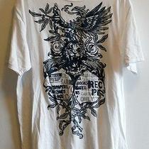 Dkny Mens T Shirt  X Large Eagle / Hawk Tiger Photo