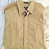 Dkny Natural Stretch Men's Dress Button Down Career Shirt 16.5