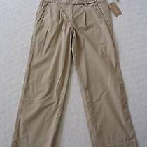 Dkny Pure Beige Pants Chino Small Nwt 2 Photo