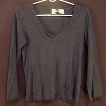 Dkny Pure Gray Long Sleeve Shirt Photo