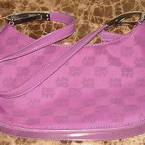 Dkny Purple Handbag Photo