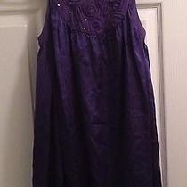 Dkny Purple Top Size Large Photo